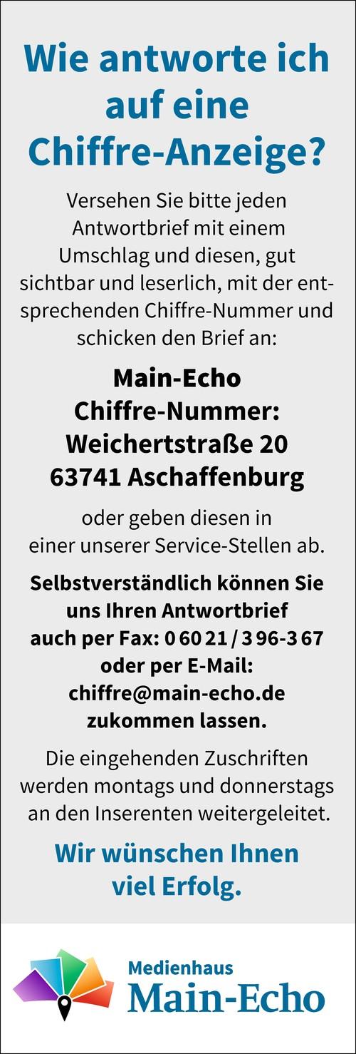 Chiffre-Anzeigen beantworten - so geht's richtig