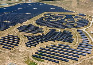 Solarpark in China